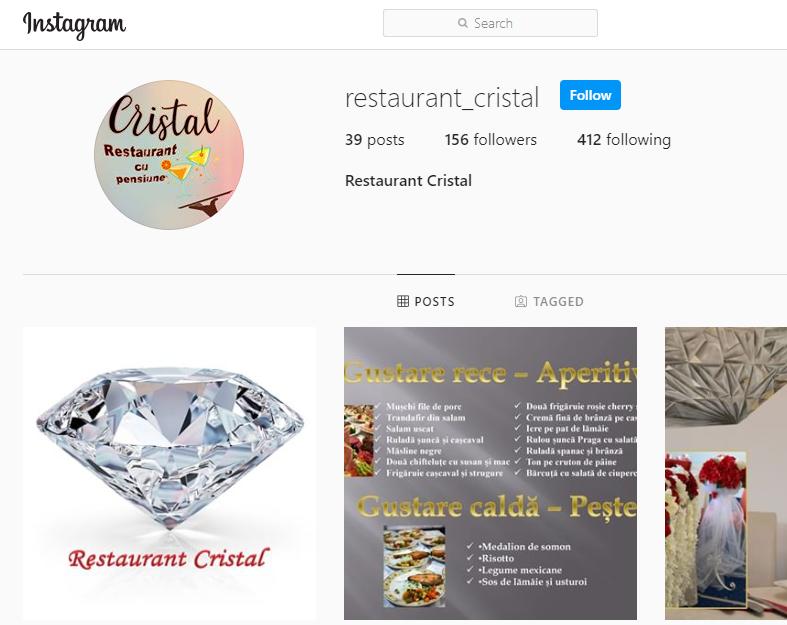 Contact Restaurant Cristal
